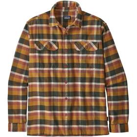 Patagonia Fjord LS Flannel Shirt Herre observer/wren gold